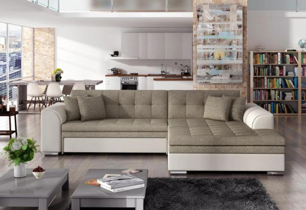 Rohová rozkladacia sedačka SORENTO, 294x80x196, inari23/soft33, pravá
