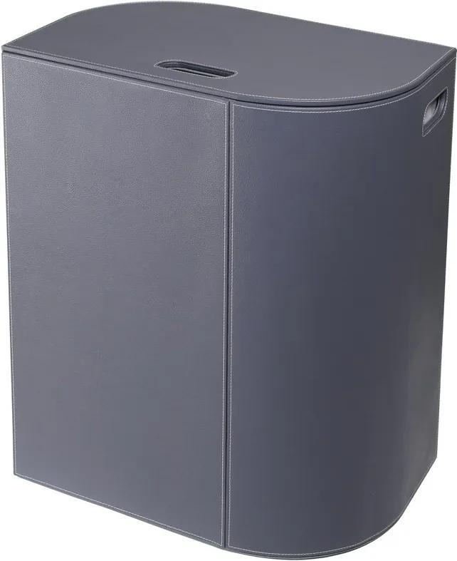 SAPHO - VELA kôš na prádlo 48,5x61x32cm, sivá (2464GR)