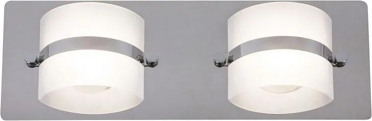 RABALUX 5490 Tony kúpeľňové sviet. zabud. LED 2x5W chróm IP44 4000K