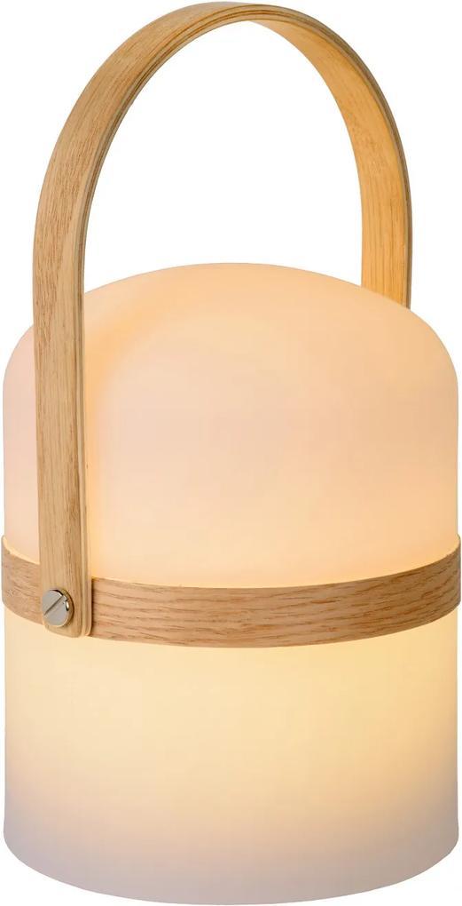 LED stolná lampička Lucide JOE 1x3W integrovaný LED zdroj