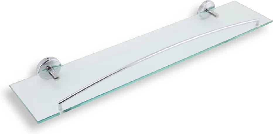 Novaservis Metalia 11 0153,0 polička so zábradlím 600 mm