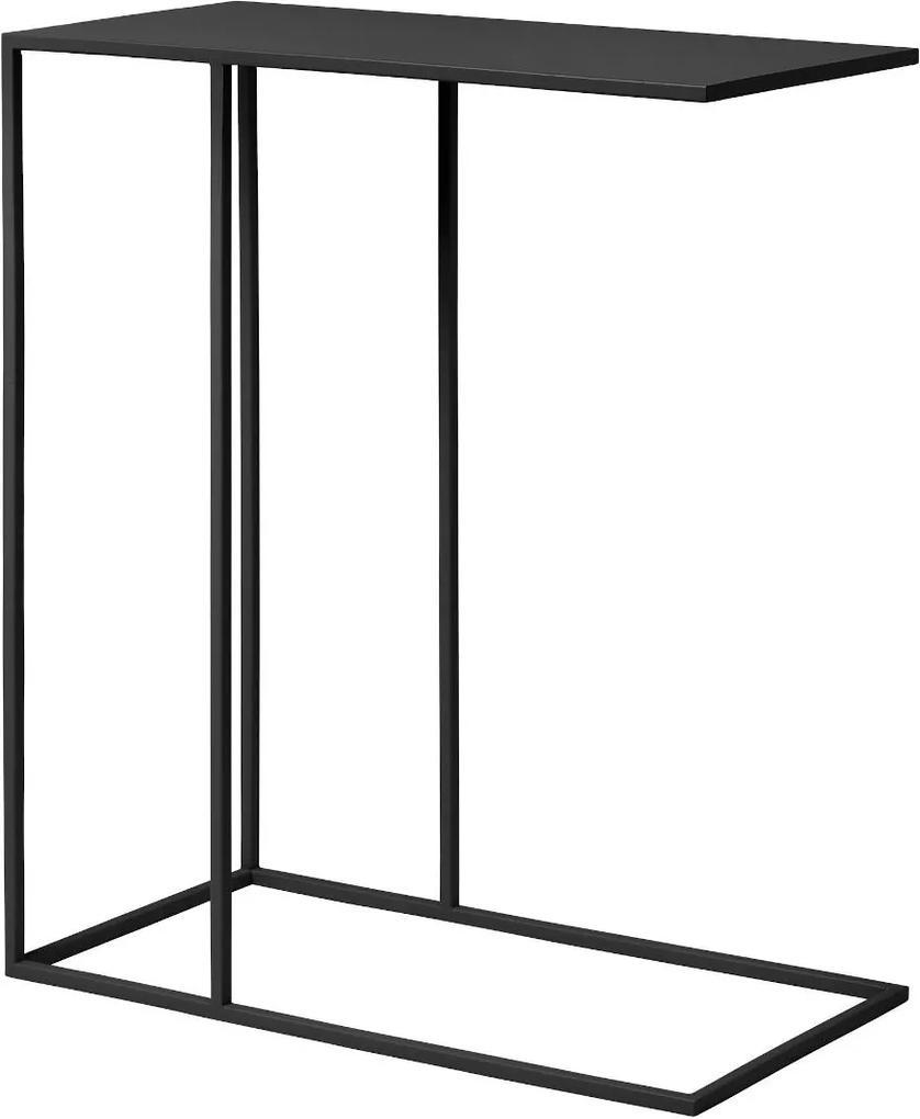 Stolík k pohovke čierny FERA - Blomus