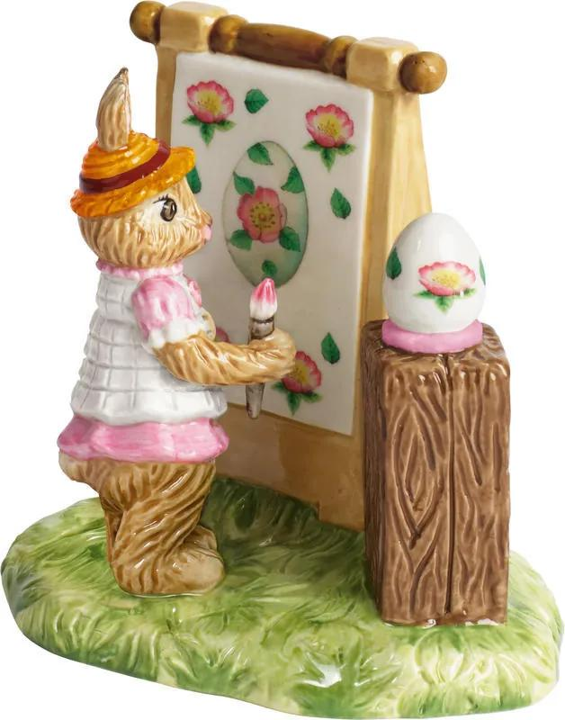 Dekorácia, Anna maľuje 12,5 cm Bunny Tales