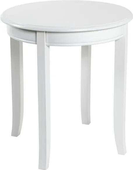 Sconto Prístavný stolík PROVENCE 3 biela