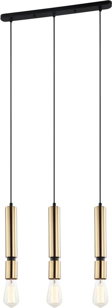 Italux PEN-5041-3-BKBR závesný luster Torla 3x40W | E27