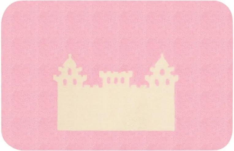 Zala Living - Hanse Home koberce Protiskluzový kusový koberec Niños 103077 Rosa 67x120 cm - 67x120 cm