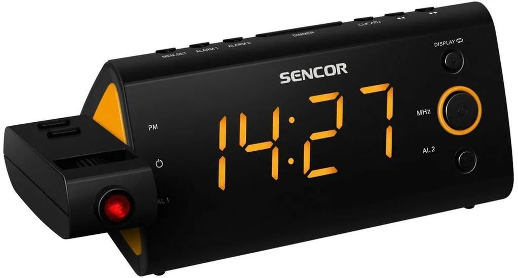 SENCOR SRC 330 OR Rádiobudík s projekciou 35039420