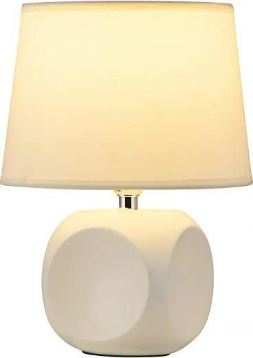 Rábalux 4395 Nočná stolová lampa cream biely E14 1X MAX 40W 25 x 18 x 18 cm