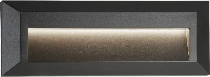 Searchlight 8732GY ANKLE exteriérové nástenné svietidlo LED 35x11,7W 53 lm IP65