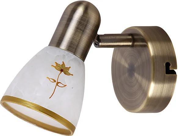 Rábalux 6356 Nástenné Lampy Art flower bronz kov E14 1x MAX 40W IP20