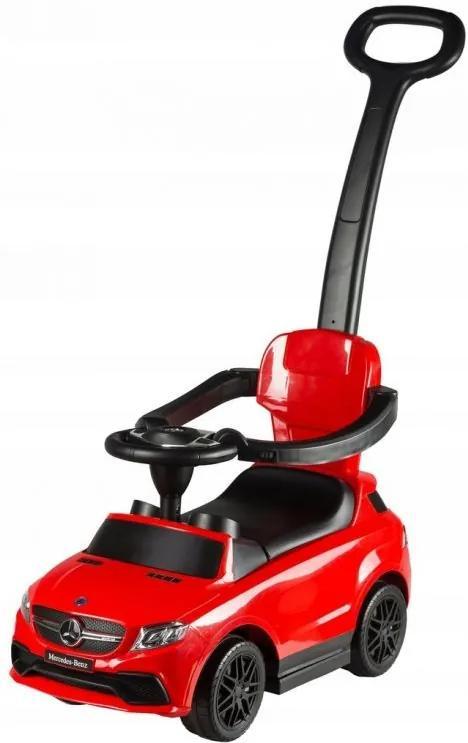 MULTISTORE Dětské odrážedlo auto Mercedes AMG GLE 63 červené