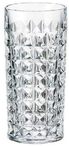 Bohemia Crystal Poháre Diamond na nealko a vodu 9K7/2KE38/0/99T41/260m