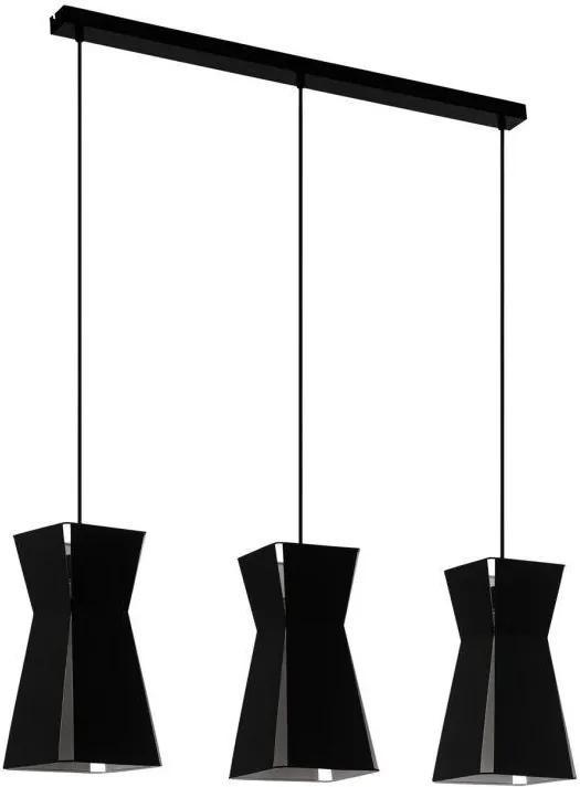 Kuchynské svietidlo EGLO VALECROSIA black 99083