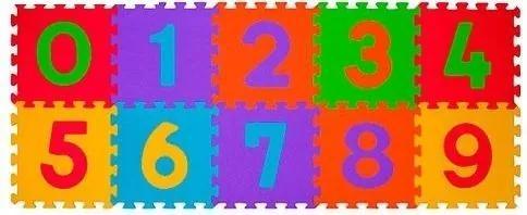 MAXMAX Detské penové puzzle ČÍSLA - 10 ks