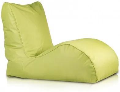 Ecopuf Sedací vak Ecopuf - NAOMI polyester NC1 - Svetlo zelená
