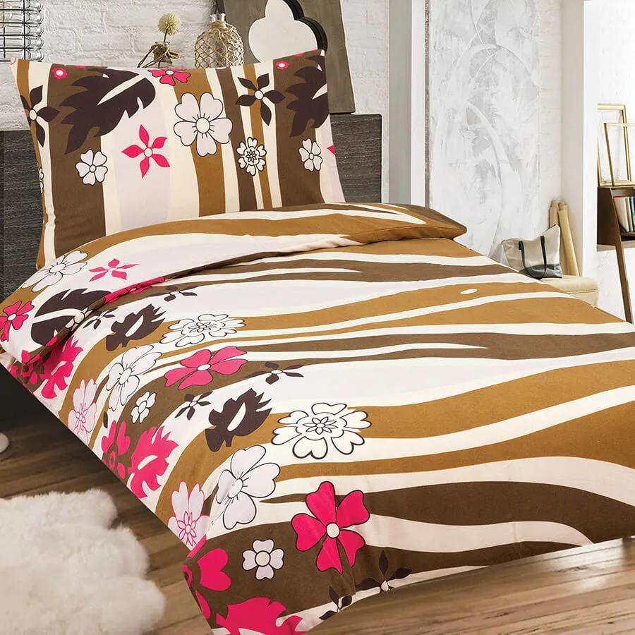 Home of Dream Flanelové obliečky Alline (2-dielna sada), 140 x 200 cm