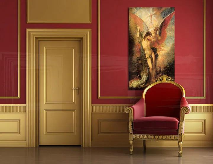 Obraz na plátne ST. SEBASTIAN – Gustave Moreau REP160