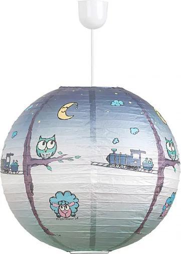 Rábalux 4631 Detské Závesné Lampy Shepherd viacfarebné IP20