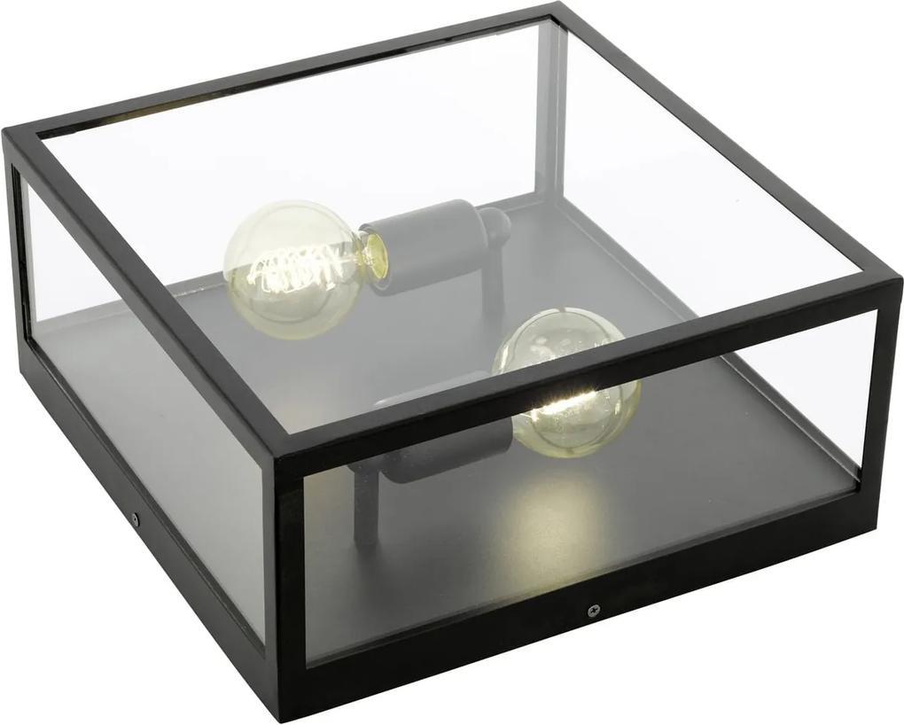 Stropné svietidlo EGLO CHARTERHOUSE čierna 49392