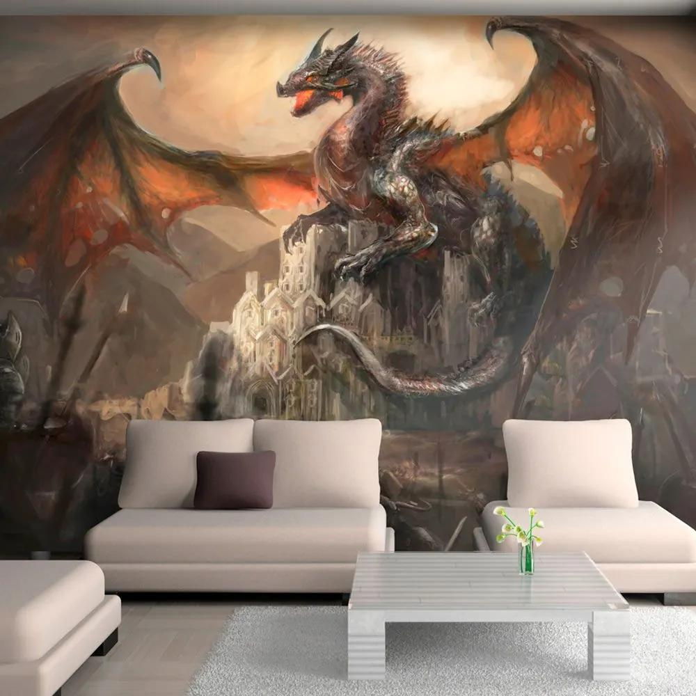 Fototapeta - Dragon castle 400x280