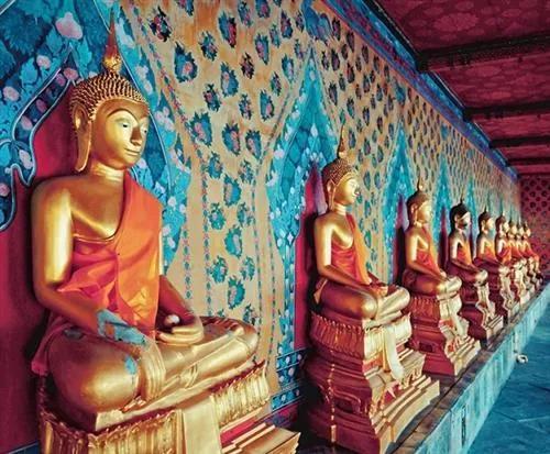Luxusné vliesové fototapety, rozmer 325,5 cm x 270 cm, Bangkok, P+S International CL57A