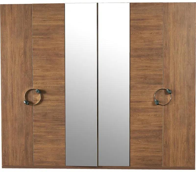 INFINITY Šatník 6 dverový -  z predajne.