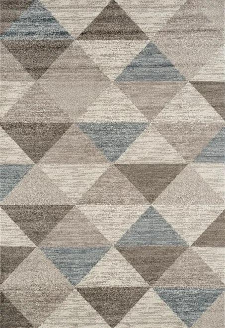 Festival koberce Kusový koberec Rixos K11610-01 Grey Blue (630 silver) - 200x290 cm