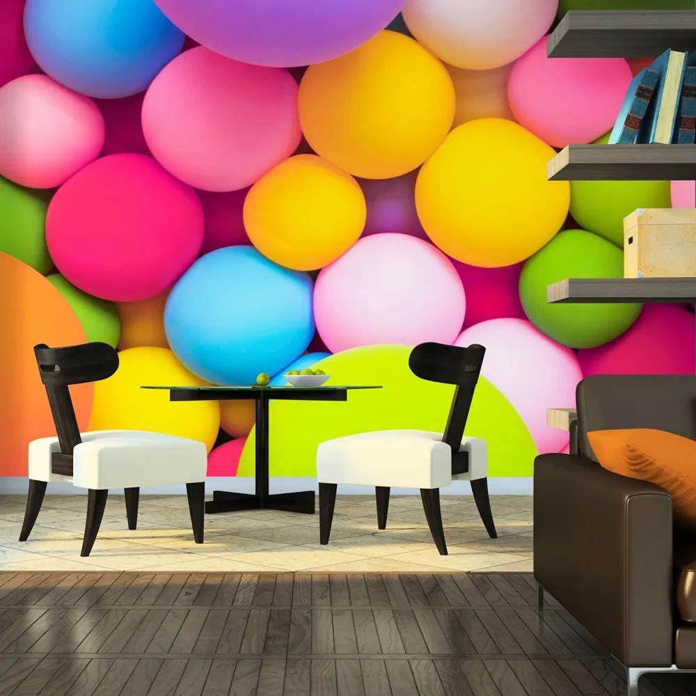Fototapeta - Colourful Balls 250x175