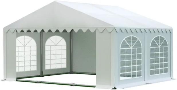 Záhradný párty stan 5x4m biela PREMIUM