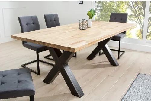 5dbc67a3873f Jedálenský stôl 37882 200x100cm Masív drevo Dub-Komfort-nábytok ...