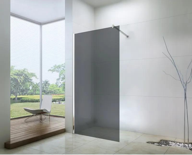 Mexen sprchová zástena WALK-IN, 80 cm, šedá, 850-080-000-01-40