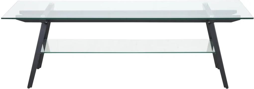 Bighome - TV stolík MONTI 160 cm, číra