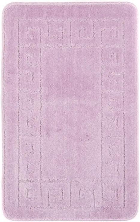 Kúpeľňová predložka 1030 fialová, Velikosti 50x80cm
