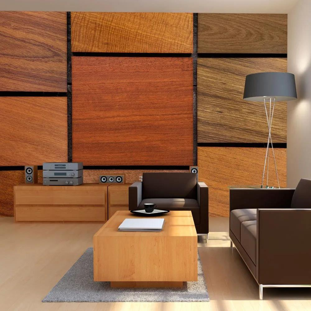 Fototapeta - Wooden cubes 300x210