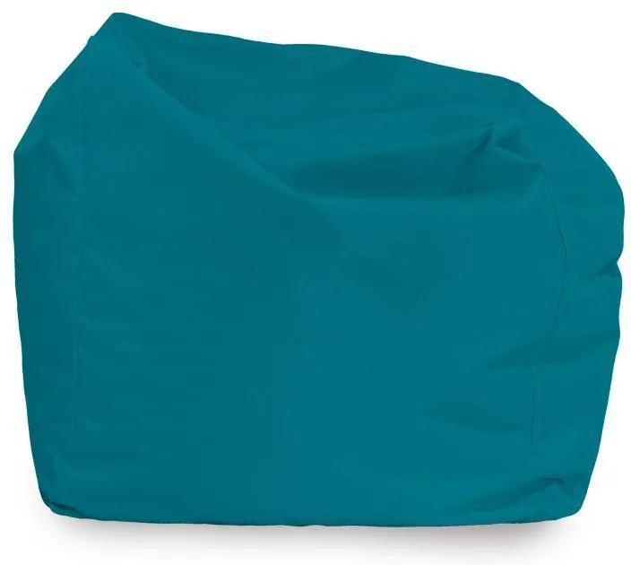 Sedací vak AMALFY nylon - modrý