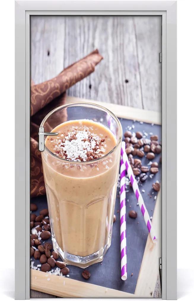Fototapeta dveře samolepící Čokoládový koktejl