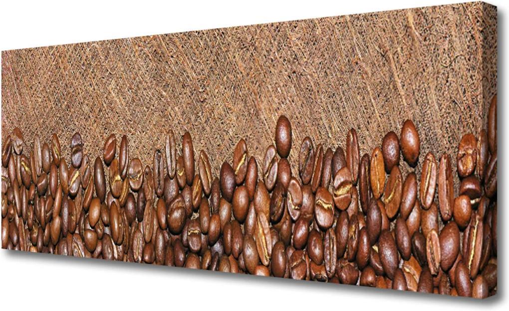 Obraz na plátně Káva Zrnká Kuchyňa