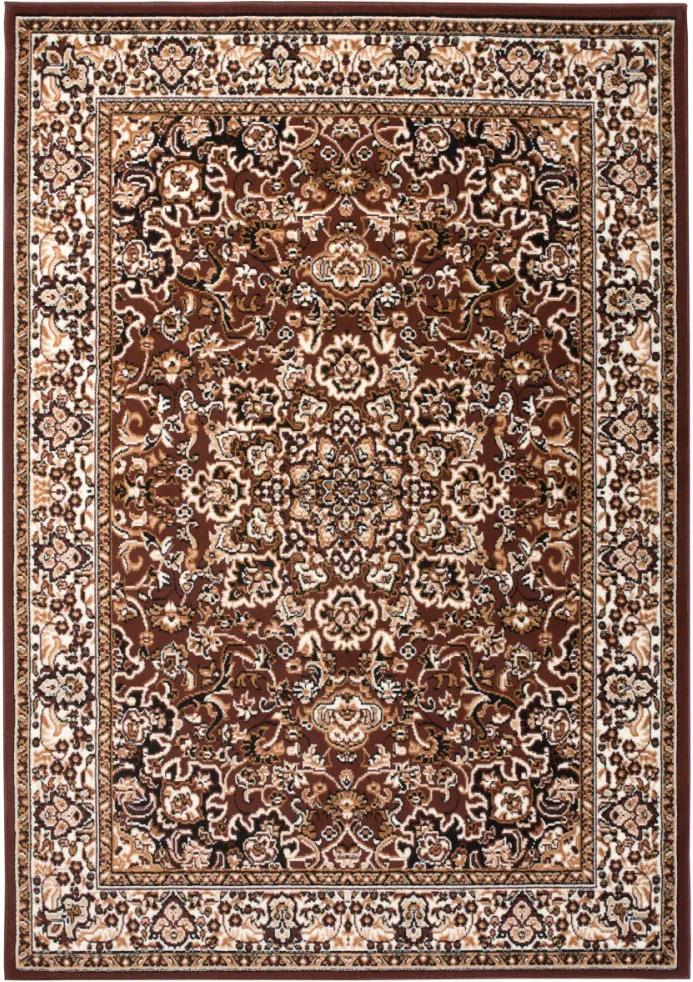 Kusový koberec PP Laila hnedý, Velikosti 120x170cm