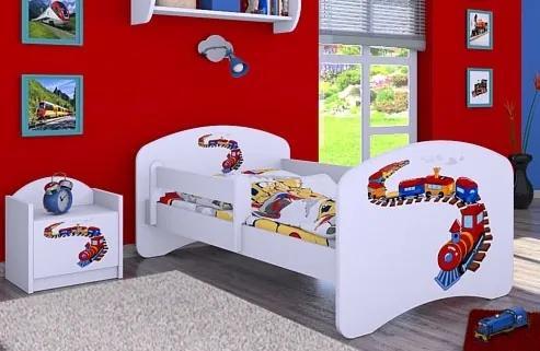 MAXMAX Detská posteľ bez šuplíku 160x80cm MAŠINKA