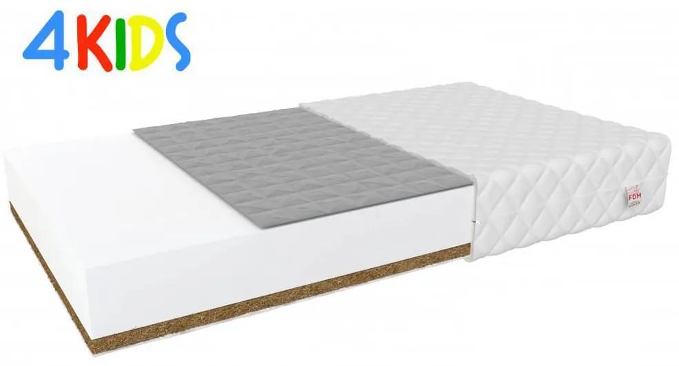 Jaamatrac Bambino Console matrac pohánka/kokos 195x90