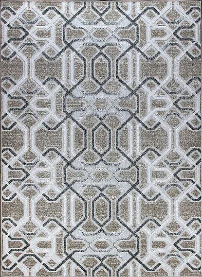 Berfin Dywany Kusový koberec Lagos 1055 Beige - 140x190 cm