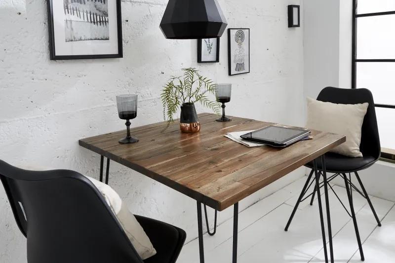 Jedálenský stôl Anaya, 80 cm, hnedý