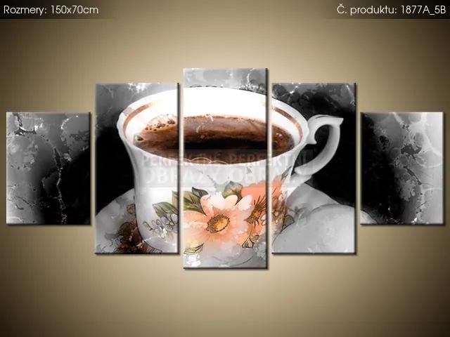 Tlačený obraz Aromatická káva 150x70cm 1877A_5B