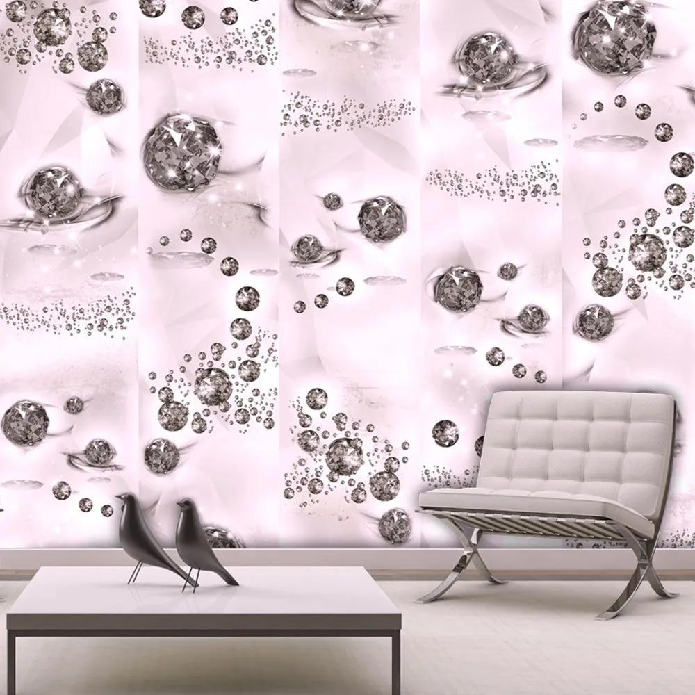 Fototapeta - Pink Jewels 50x1000