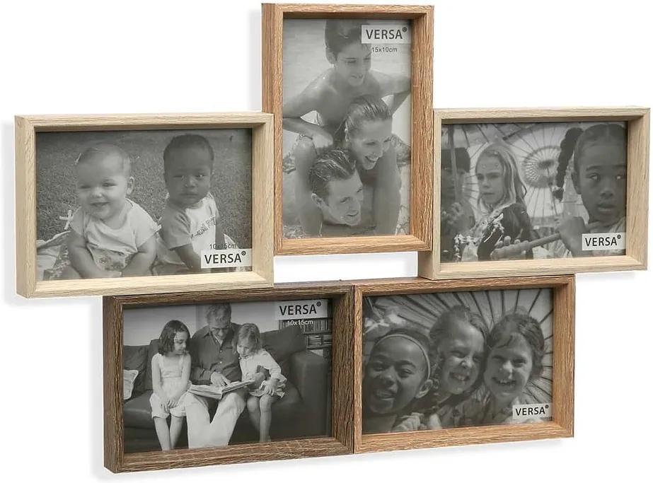 Nástenný fotorámik na 5 fotografií Versa Windows