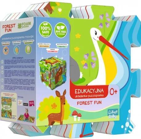 TREFL 060698 Trefl penové puzzle les