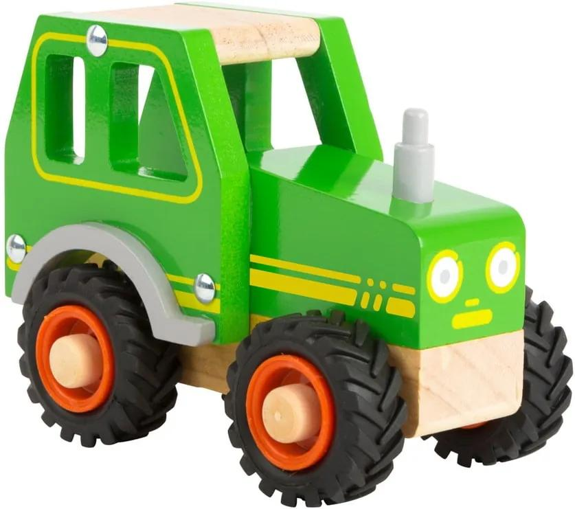 Detský drevený traktor Legler Tractor