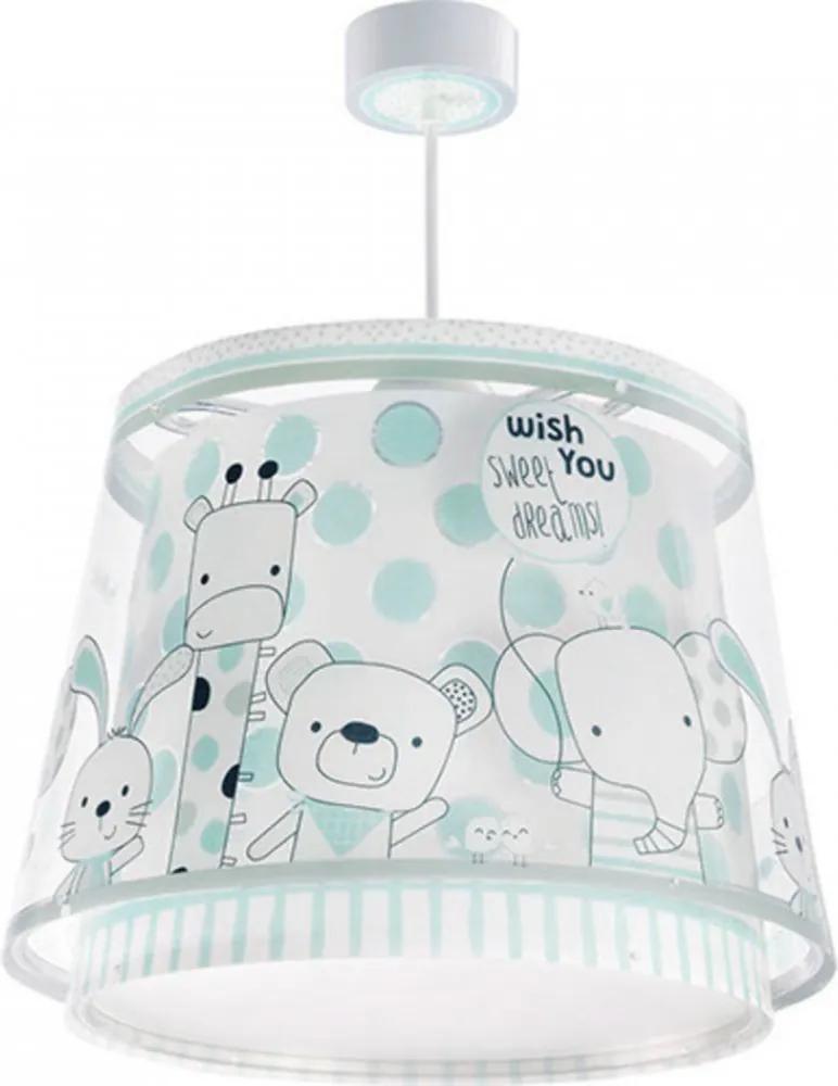 Dalber Friends 80122 Detské Závesné Lampy biely 1 x E27 max. 60W
