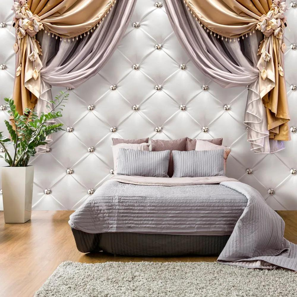 Fototapeta - Curtain of Luxury 400x280