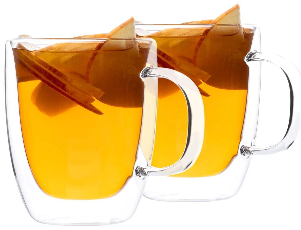 Termo poháre, set 2 ks, šálka na čaj, 350 ml, HOTCOLD TYP 12